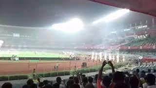 ISL MATCH 2017-18    ATK VS PUNE CITY FC       NATIONAL ANTHEM
