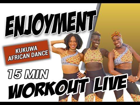 KUKUWA® African Dance 15 min: Enjoyment