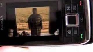 Nokia E66 US Version Play MP4 Video