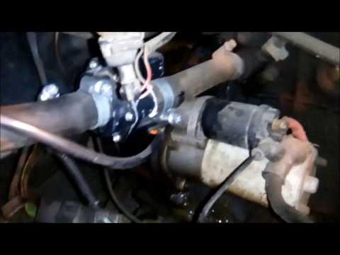 Установка электропривода заслонки отопителя в ВАЗ 2110
