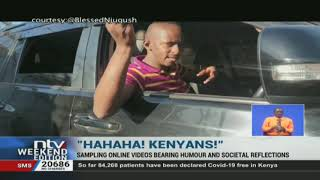 Kenyan content creators' satirical ways of reflecting decay in society