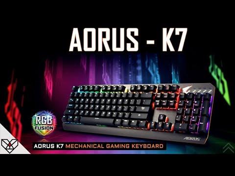 55247d85564 AORUS K7 - Mechanical gaming keyboard - YouTube