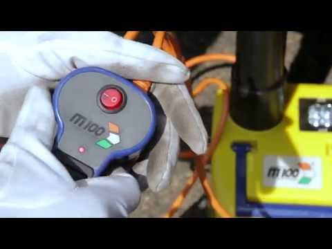 M100 Electric Hydraulic Jack and Wrench