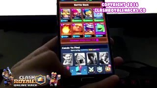 Clash Royale Gem Hack - Clash Royale Hack 2016 (Android&iOS)