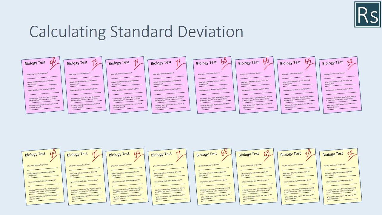 5 tips for understanding standard deviation - Maths In Biology Standard Deviation
