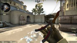 Counter Strike Global Offensive: TRAINING BOT MATCH