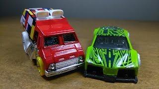 Hot Wheels Art Cars! Cool One & Zotic!