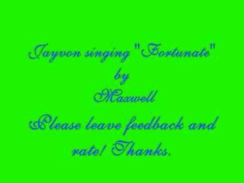 Maxwell - Fortunate (Performed By Jayvon)
