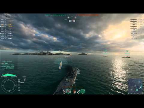 World of Warships | Powered by GeForce GTX