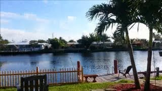 REAL ESTATE WILTON MANORS WATERFRONT 724 NW 30 CT  $250,000