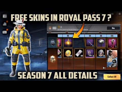 Royale Pass 7 is Here | New Free Skins in Season 7 Pubg Mobile