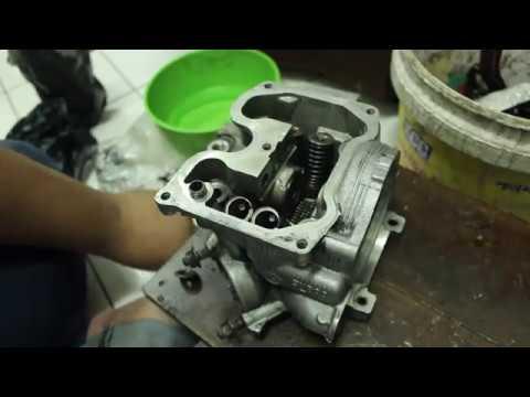 Pasang valve cap,Spring valve dan roker arm Lc135,Y15zr,Fz150i #Tutorial