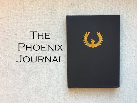 The Phoenix Journal { Daily Journal for Productivity }