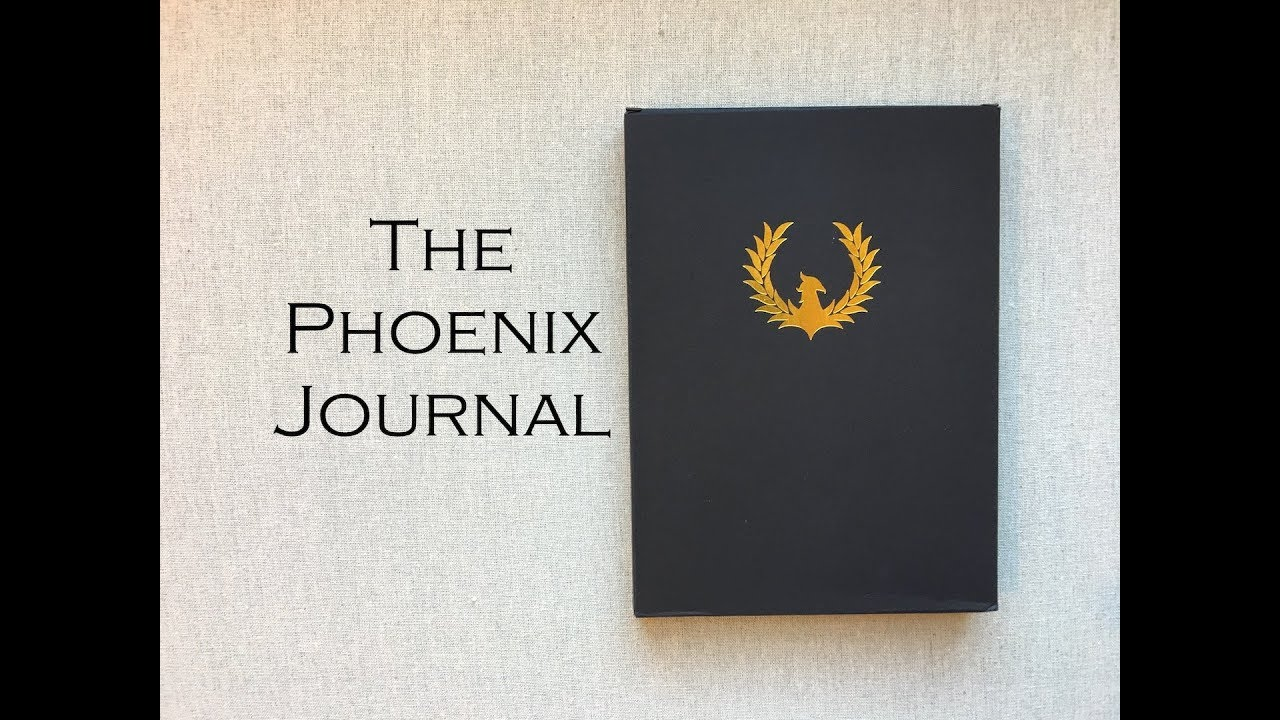 the phoenix journal daily journal for productivity youtube