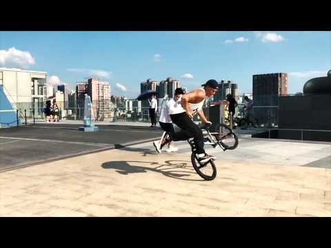 Chris Böhm - BMX LIFE - Rotterdam to China with Josko fitness SPORTS