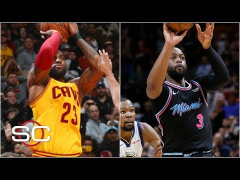 LeBron James, Dwyane Wade and Michael Jordan headline top 10 HORSE shots | SportsCenter
