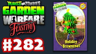 Plants vs. Zombies: Garden Warfare - Gameplay Walkthrough Part 282 - Holiday Browncoats (PC)