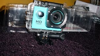 $15 1080p Sports Action Camera Review