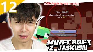 UDALIŚMY SIĘ DO NETHERU - Minecraft z Jaśkiem #12 | JDABROWSKY