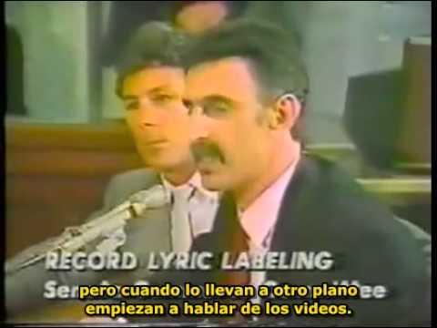 Frank Zappa en las audiencias del PMRC Completo SUBTITULADO