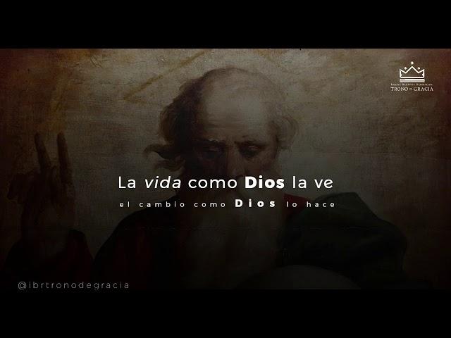 La vida como DIOS la ve / Escuela Teológica / Clase 2 / Ps. Rubén contreras