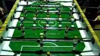 tablesoccer - final shot to win tournament