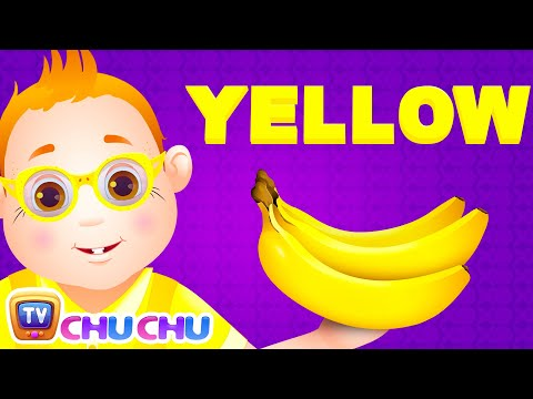 Thumbnail: Color Songs - The YELLOW Song | Learn Colours | Preschool Colors Nursery Rhymes | ChuChu TV