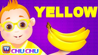 Color Songs - The YELLOW Song | Learn Colours | Preschool Colors Nursery Rhymes | ChuChu TV thumbnail