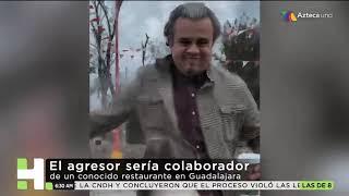 Exhiben a Lord Café por agredir a mujer en Guadalajara