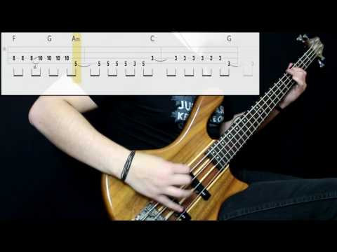AFI - Medicate (Bass Cover) (Play Along Tabs In Video)
