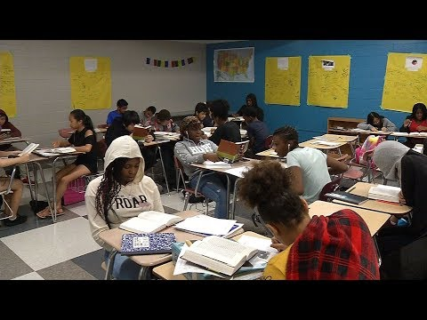 School Spotlight: Construction Wraps at Brooklyn Center Middle School