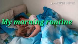 Мy morning routine| Моё утро в выходной🌞