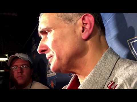 Frank Martin talks South Carolina's win against Duke