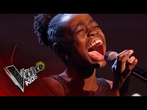 Chi performs 'Oh Happy Day': Blinds 1 | The Voice Kids UK 2017