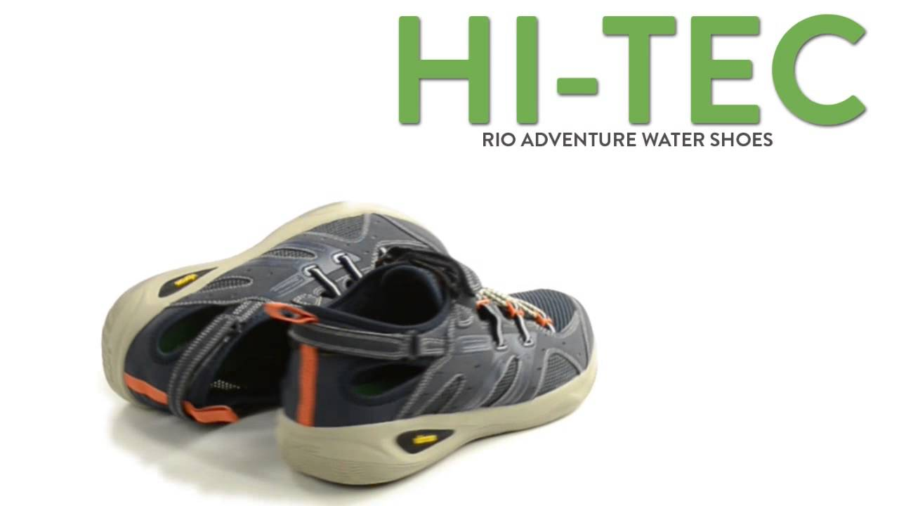 Hi-Tec Rio Adventure Water Shoes (For Men) - YouTube