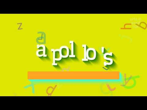 "How to say ""apollo's""! (High Quality Voices)"
