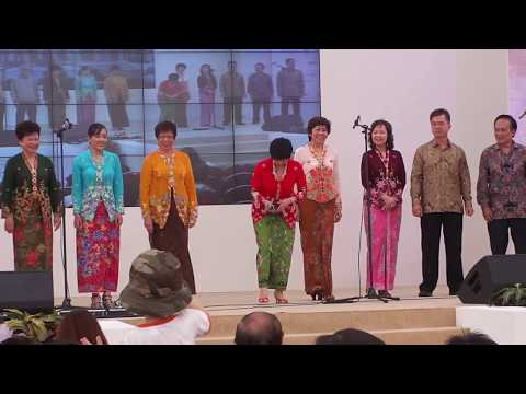 Peranakan Culture And Songs By Peranakan Association Singapore Choir @ Singapore HeritageFest 2011