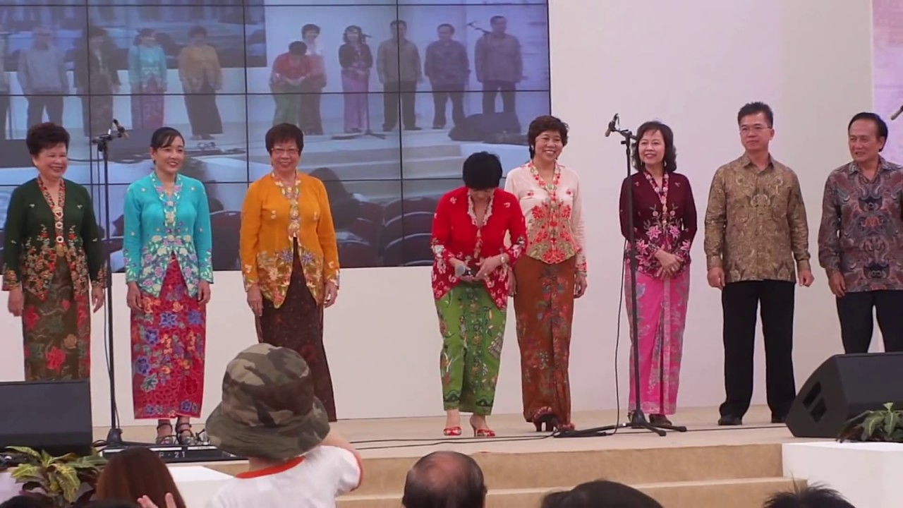 Peranakan Culture And Songs By Peranakan Association ...