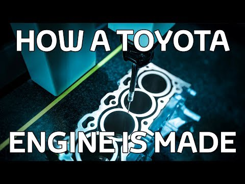 How a Toyota Engine is Made
