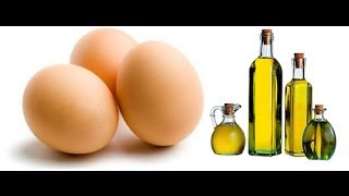 DIY: Damage Hair Strengthen Mask | Olive oil and Eggs