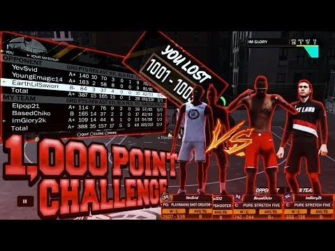 😱HOW TO GET THE BEST STATS IN NBA2K18!!😱HE SCORED 500 POINTS IN 1 GAME?😱1,000 POINT CHALLENGE #2!