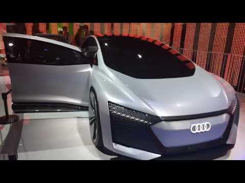CES 2019 Las Vegas Audi Car Of The Future #CES2019