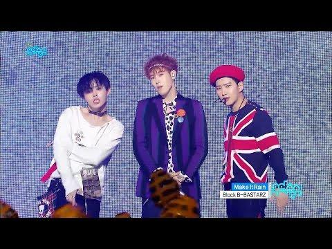 【TVPP】Block B-BASTARZ – Make It Rain, 블락비 바스타즈 - Make It Rain @Show Music Core