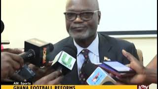 Ghana Football Reforms - AM Sports on JoyNews (16-1-19)
