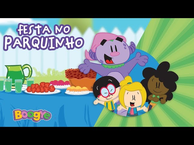 Boogye no Parquinho - Festa no Parquinho - Clipe Infantil Oficial