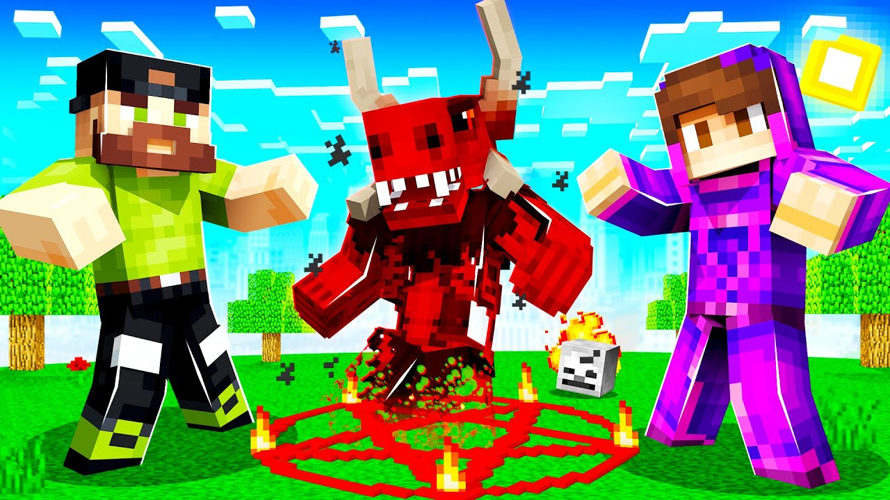 USING MAGIC to SUMMON A DEMON in INSANE CRAFT!