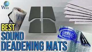 6 Best Sound Deadening Mats 2017
