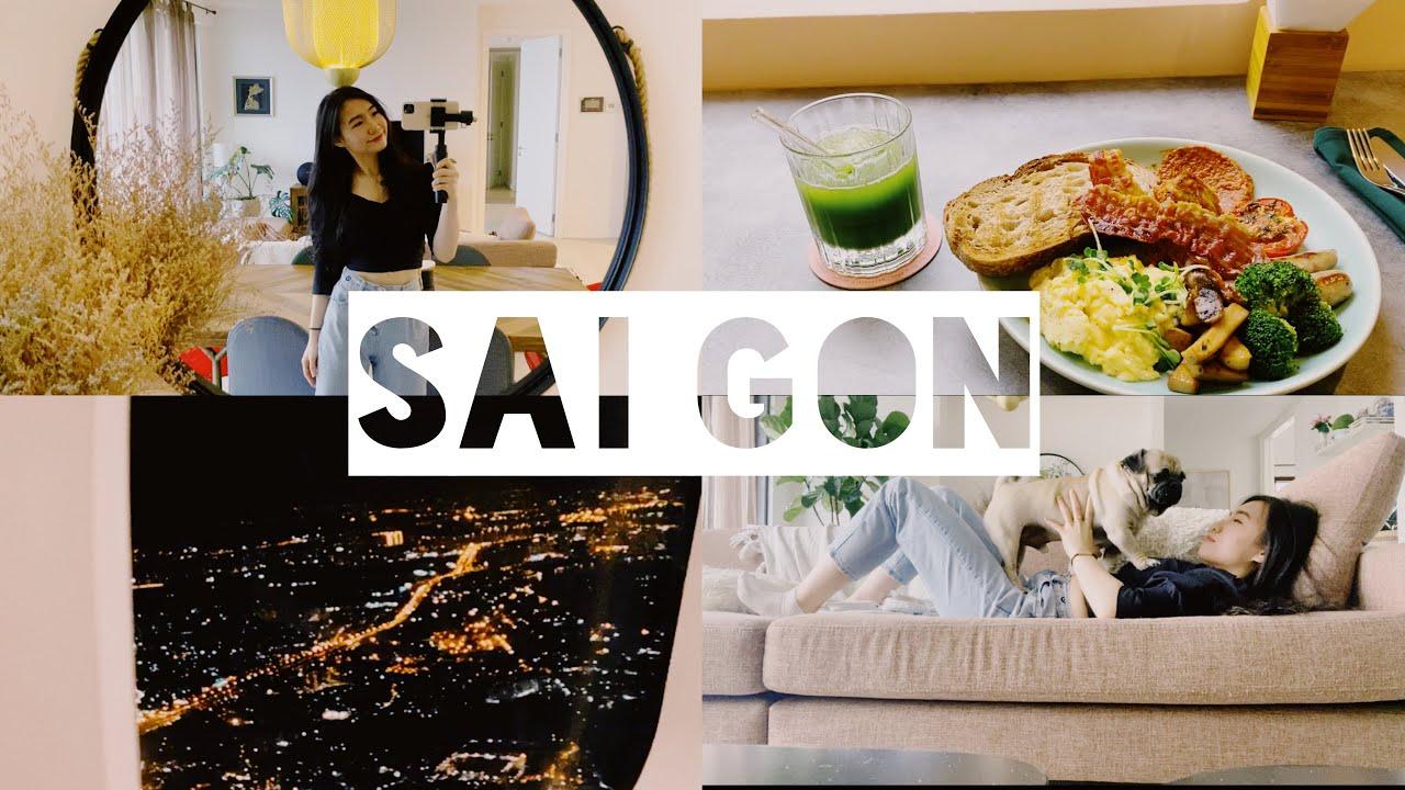 ✈️THEO CHÂN MÌNH ĐI LƯỢN LỜ SÀI GÒN NÀO!!! 🇻🇳  2 DAYS IN SAIGON   MỠ MỠ ♡