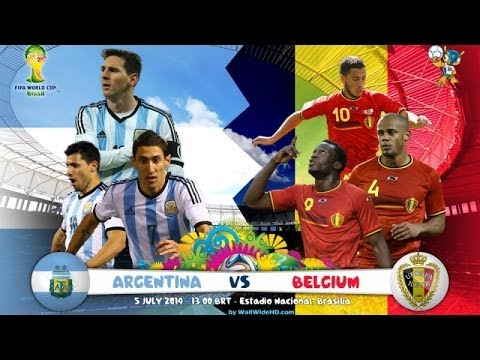 ARGENTINA v BELGIUM recreate ☆ FIFA WORLD CUP 2014 QUARTER FINAL ☆ panini adrenalyn xl packs