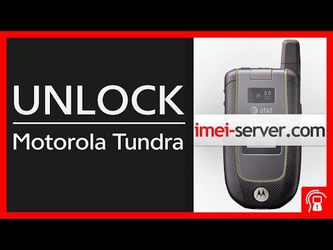 Unlock Motorola Tundra VA76R AT&T SIM Lock By IMEI